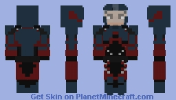Coming Soon...The ATOM (Arrow; Incomplete) Minecraft Skin