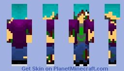 An OC that needs a name Minecraft Skin