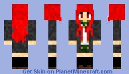 Shana from Shakugan no Shana ( Skylantera's Request ) Minecraft Skin