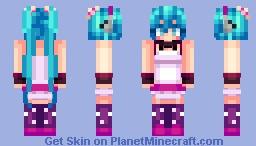 Hatsune Miku (Redial) Minecraft