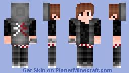 Hipster Teen Minecraft Skin