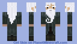 Nemios with a dark cyan robe Minecraft Skin