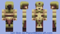 Jungle Shaman! - PBL S8W1 Minecraft Skin