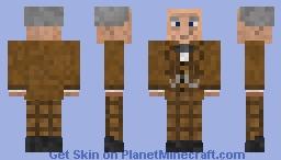Professor Slughorn Minecraft Skin