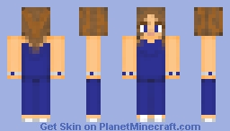 Tanzanite Bridesmaid Minecraft Skin
