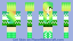 ~Lily | Skin Collab with coolgirl11302 Minecraft Skin