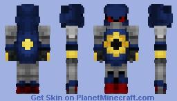 Metal Sonic Minecraft Skin