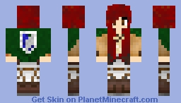 My Personal Attack on Titan Skin Minecraft Skin