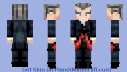 It's the Eyebrows - The 12th Doctor Minecraft Skin