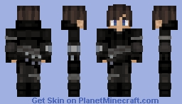 Dark Assassin Minecraft Skin