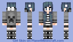 Casual Girl I Guess Minecraft Skin