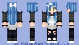 ♦ Michael Clifford Girl ~ For Julia ♦ Minecraft Skin