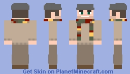 Flat Cap Joe Minecraft Skin
