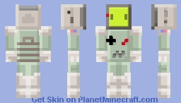 GameBoy - The Gameboy [Contest] Minecraft Skin