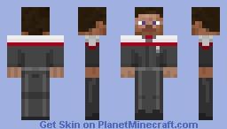 Odyssey Uniform- Captain Minecraft Skin