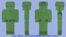Sergeant Green The Plastic Commando [Contest Entry] Minecraft Skin