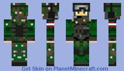 American Soldier Minecraft Skin