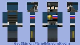 Russian Policeman Minecraft Skin