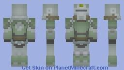 FALLOUT T-51b Power Armor [Sage] MC 1.8 Minecraft Skin