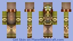 ~World of Warcraft - Thrall the shaman~ Minecraft Skin