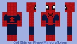 Spider-Man? (Civil War) Minecraft Skin