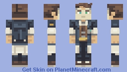 Borderlands - Handsome Jack Minecraft Skin