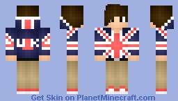 British Lad Minecraft Skin