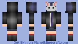 Touka from Tokyo Ghoul (2) Minecraft Skin