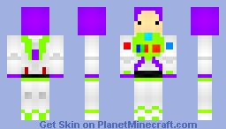 Buzz Lightyear? Minecraft Skin