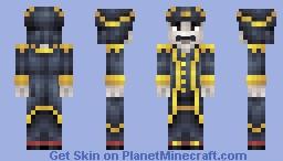 Captain Sabertooth - Childhood Hero Contest Minecraft Skin