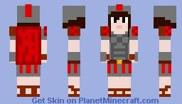 roman empire soldier- female
