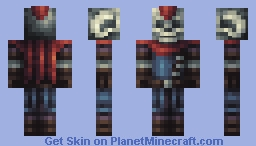 Undead Bounty Hunter Minecraft Skin