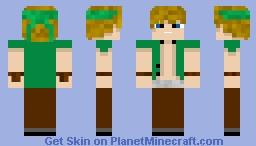 Cpt. Sparklez 'Take back the Night' character: (Redone) Minecraft Skin