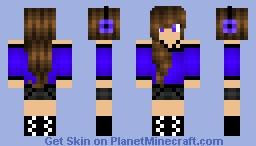 -=( First Skin! Made From Scratch )=- Minecraft Skin