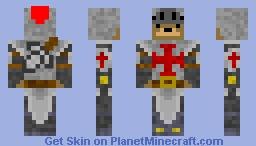 Bear Knight Minecraft Skin