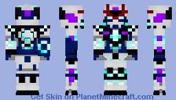 GN-1999 Gundam Promethea Ultimate Minecraft Skin