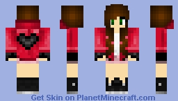 ~*Super*~ Valentines Day Girl  Minecraft Skin