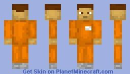 Prisoner Minecraft Skin