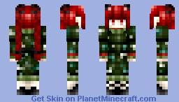 TOUHOU PROJECT: Rin Kaenbyou (Li's Request) Minecraft Skin