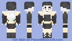 Silent Rainbow Minecraft Skin