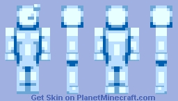 There's no pause button! Minecraft Skin