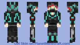 Assassin Girl Minecraft Skin
