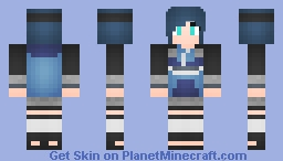 Skin Request: Nagisa Kaigara (Amegakure Ninja)