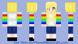 ΚΔςυΜι♥ Blonde Rainbow Girl (Requests Are Open)