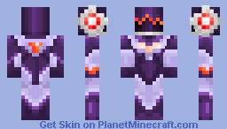 DJ Sona - Concussive and Ethereal Minecraft Skin