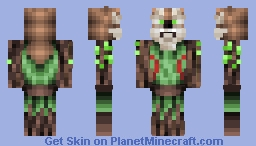 the forest spirit       entry for  golden princes 12 fantasy skin contest Minecraft