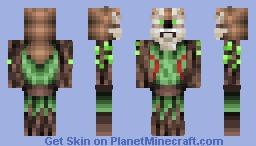 the forest spirit       entry for  golden princes 12 fantasy skin contest Minecraft Skin