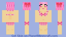 Swimsuit Madoka Minecraft Skin