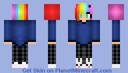 Girl in PJs (Request from _WillowTree_ Minecraft Skin