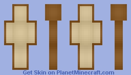 the bread from i am bread (shaded) Minecraft Skin